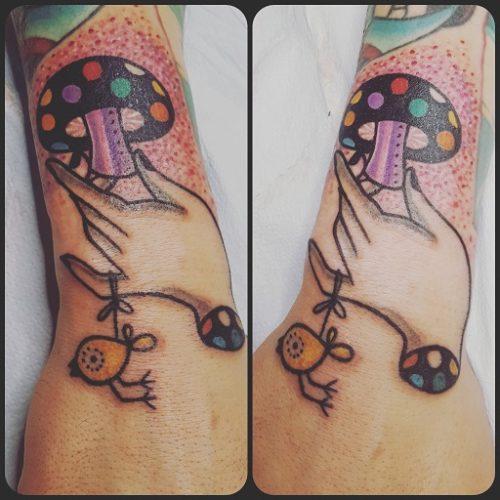 Tatuaggi funghi Modena